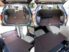 How to build a sleeping platform for a Mazda CX-7
