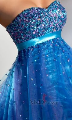 Ball Gown Sweetheart Short Organza Sweet 16 Dress with Crystals