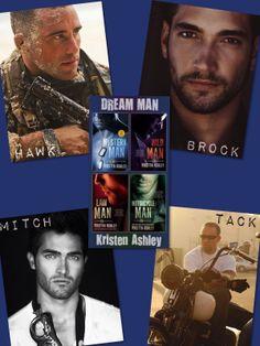 Dream Man series by Kristen Ashley