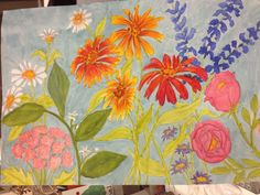 more color for Mary Ann's class