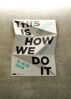 Christian nicolaus ute mueller schloesser this is how we do it poster  on etapes.com