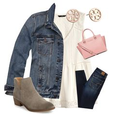 A fashion look from November 2016 by ctrygrl1999 featuring H&M, Abercrombie & Fitch, American Eagle Outfitters, Splendid, Michael Kors and Tory Burch