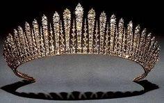 The Kent City of London Fringe Tiara of Princess Michael of Kent.