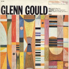Glenn Gould/ Cover art by S. Neil Fujita.