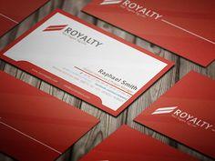 Royal Business Card #businesscards #printready #businesscardtemplate #printedcards