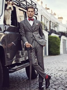 English style.for the dapper gentleman