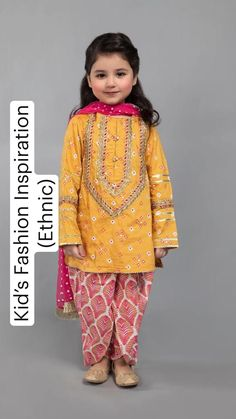 Baby Girl Dress Design, Girls Frock Design, Kids Frocks Design, Baby Frocks Designs, Kids Summer Dresses, Stylish Dresses For Girls, Girls Dresses Sewing, Little Girl Dresses, Pakistani Kids Dresses
