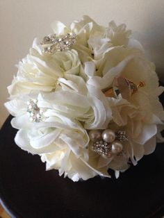Sweet Communion Brooch Bouquets