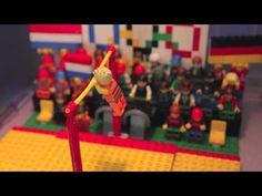 "A Lego movie! honoring Dutch Olympic gymnast Epke Zonderland ""The Flying Dutchman"" on horizontal bar. Epke Zonderland won a gold medal in the 2012 London Olympic Games."