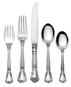 One Day- Gorham Chantilly Sterling Silver Flatware Collection - Flatware & Silverware - Dining & Entertaining - Macy's