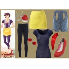 """""""Hipster Snow White"""" by planjane72 on Polyvore"""