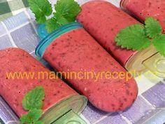Nanuky z černého rybízu Watermelon, Ice Cream, Fruit, Drinks, Food, Summer, No Churn Ice Cream, Drinking, Beverages