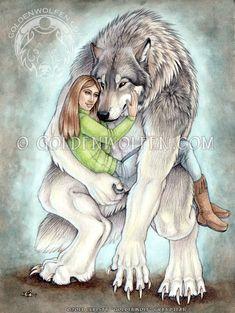 Moonsinger's Woman by Goldenwolf.deviantart.com on @deviantART