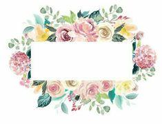 Flower Background Wallpaper, Flower Backgrounds, Background Patterns, Wallpaper Backgrounds, Iphone Wallpaper, Wallpapers, Creation Photo, Clip Art, Floral Border