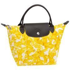 Longchamp Paris Darshan Mini Duffle Bag Yellow