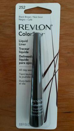 Eye Liner Revlon dark brown Revlon, Eye Liner, Dark Brown, Cosmetics, Beauty, Brown, Beauty Products, Eyeliner, Cosmetology