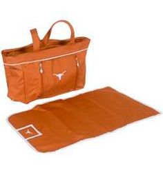 Texas Longhorns Diaper Bag**oh boy if mario ever saw this, i would have had no choice but to use it!**