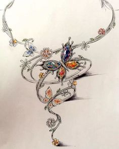 #necklace #jewelrydesign #jewelry #jewelryrendering