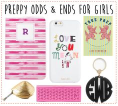 misc preppy gift ideas!