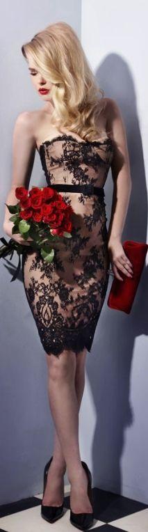 Black/Nude combo trend