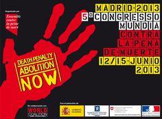 12-15/06/2013 5° Congreso mundial contra la pena de muerte
