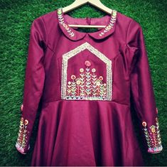 Hand embroidered with traditional work. Blouse Styles, Blouse Designs, Woman Clothing, Indian Designer Wear, Cute Designs, Kurtis, Anarkali, Swag, Designers