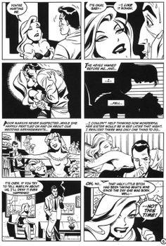 Bruce Timm-Batman black and White.