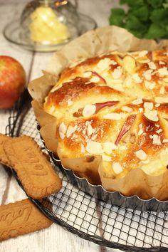 Brioche au pommes #ichbacksmir #frühstück #breakfast