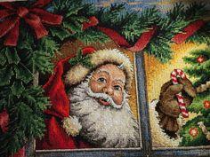 Gallery.ru / Photo # 1 - Dimensions 08734. Candy Cane Santa - HelgaFrost