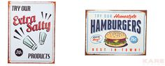 Picture Sign Hamburgers 30x40 Assorted