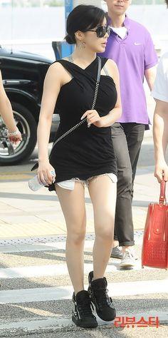 Park Bom at Incheon