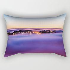 Purple Haze Rectangular Pillow by untitledgallery Purple Haze, Lumbar Pillow, Poplin Fabric, Accent Decor, Zipper, Contemporary, Pillows, Medium, Room