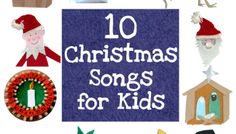Short Christmas Action Songs for 2-4 year olds