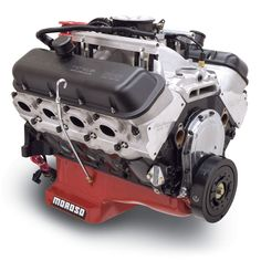 Edelbrock / MUSI 555 RPM XT Big Block Chevy Crate Engine