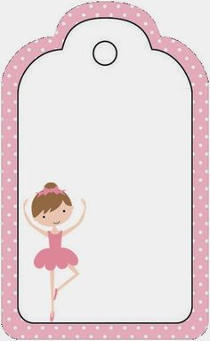 Pretty Ballerina Free Party Printables. - Is it for PARTIES? Is it FREE? Is it CUTE? Has QUALITY? It´s HERE! Oh My Fiesta!
