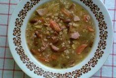 Šarišská polévka s kroupami Guacamole, Oatmeal, Breakfast, Ethnic Recipes, Food, The Oatmeal, Morning Coffee, Rolled Oats, Essen