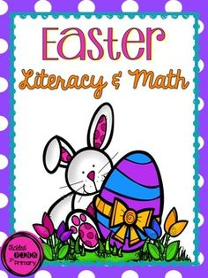 Easter Literacy and Math Activities - 11 games & printables