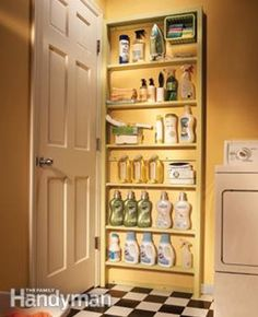 Lets face it, we could all use a little more storage space in our homes. Here I have highlighted 1 8  ways that you can add more s...
