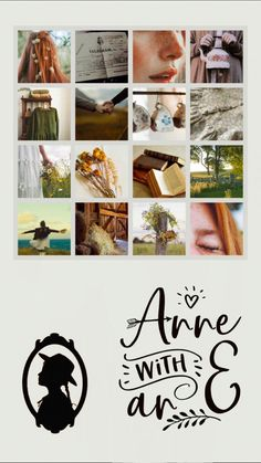 Anne with an e Lockscreen by Beau Film, Anne Shirley, Anne Of Green Gables, Gilbert And Anne, Girlmore Girls, Anne White, Gilbert Blythe, Anne With An E, King And Country