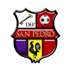1992, San Pedro (San Pedro Sacatepequez, Guatemala) #SanPedro #SanPedroSacatepequez #Guatemala (L13575) San Pedro Guatemala, Football Team Logos, Sports Clubs, Ferrari Logo, Crests, Badge, Soccer, Sports, The World