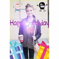 #15!!! Thank you Hanneliators for all your #Birthday wishes & photos. This one is from @Royalburgerr. Thank YOU! Xo #ghannelius #dogwithablog #birthdaygirl