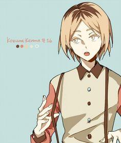 Haikyuu!! ~~ Palette series by COLAKA [pixiv] :: Kozume Kenma