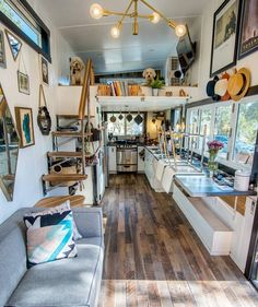 """16.1k Likes, 136 Comments - Tiny Houses (@tinyhouse) on Instagram: """"Ever look at a home and say """"this one, this is it."""" I say that every time I take a look at…"""""""
