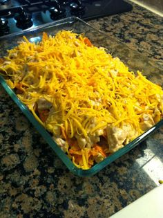 Creatively Domestic: Super Bowl Food: Dorito Chicken Casserole