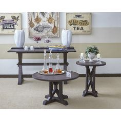 August Grove Cheyenne Coffee Table Color: Chestnut