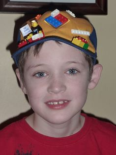 crazy hat day - lego hat