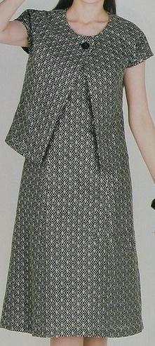 Confeccionate este precioso y muy femenino vestido casual de dos piezas con patrones que te traemos para las manualidades en costura del día y tendrás en tu guardarropa una totalmente versátil prenda de vestir que podrás usar en infinidad de diversas ocasiones, tanto en conjunto como cada pieza en separado, según gustes. Estos patrones de …