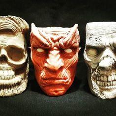 #ceramic #mug #gameofthrones #winteriscoming #ceramicmug #zombie #filmcharacter #handcraft #handcrafted #horrormug #horrorface #scaryface