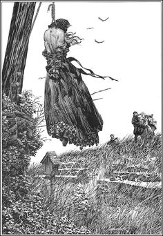 Illustration from Frankenstein by Berni Wrightson