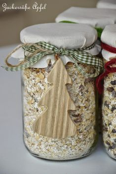 Geschenke, Glas, Müsli, Müslimischungen, Geschenke aus der Küche, Weihnachtsgeschenke selber machen, Weihnachten, Backmischungen im Glas, Müsli im Glas